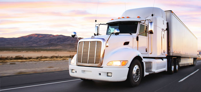 inland freight - L.O. trading truck
